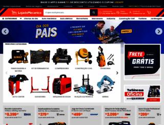 lojadomecanico.com.br screenshot