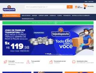 lojadopaulo.com.br screenshot