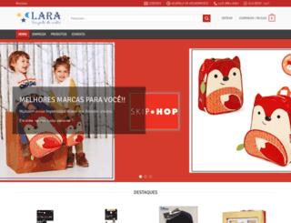 lojalara.com.br screenshot