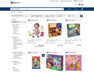 lojamamaeebebe.loja.rakuten.com.br screenshot