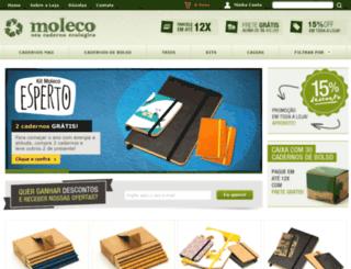 lojamoleco.com.br screenshot