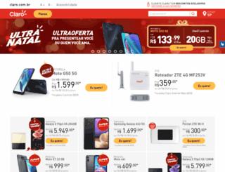 lojaonline.claro.com.br screenshot