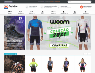 lojaoutside.com.br screenshot