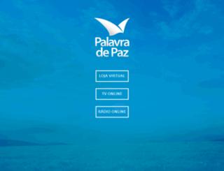 lojapalavradepaz.com.br screenshot