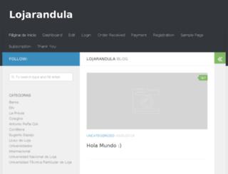 lojarandula.com screenshot