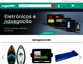 lojaregatta.com.br screenshot