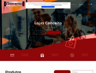 lojasconceito.com.br screenshot
