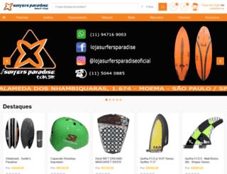 lojasurfersparadise.com.br screenshot