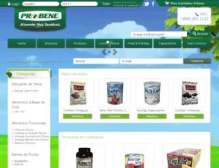 lojavirtualprolev.com.br screenshot