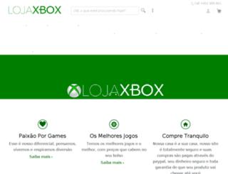 lojaxbox.com.br screenshot