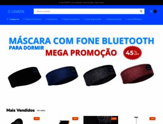 lojazul.com.br screenshot