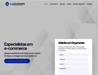 lojcomm.com.br screenshot