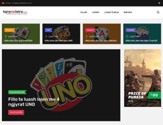 lojrameletra.com screenshot