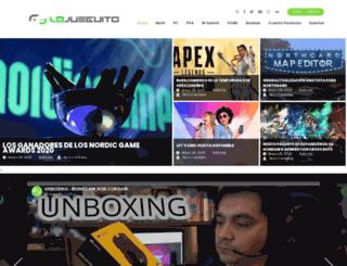 lojueguito.com screenshot
