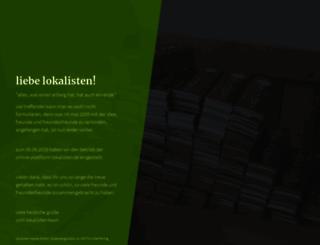 lokalisten.de screenshot