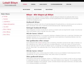 lokalt-bilsyn.dk screenshot