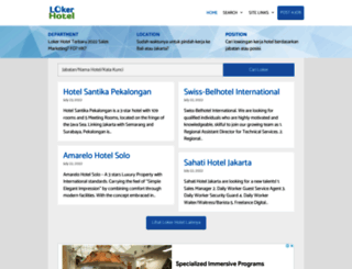 lokerhotel.com screenshot