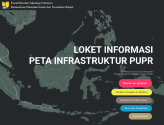 loketpeta.pu.go.id screenshot