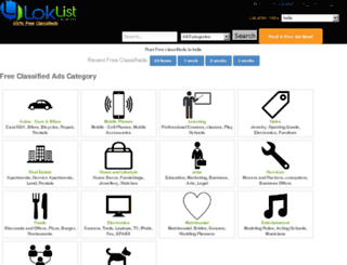 loklist.com screenshot