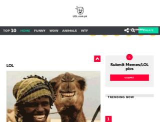 lol.com.pk screenshot