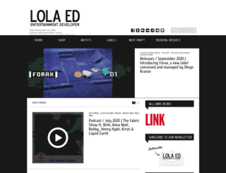 lola-ed.com screenshot