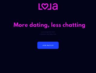lola.com screenshot