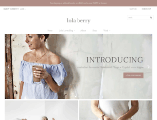 lolaberry.com screenshot