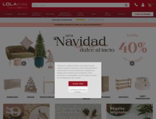 loladerek.es screenshot