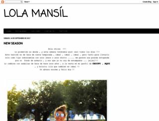 lolamansil.blogspot.gr screenshot