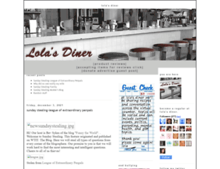 lolasdiner.blogspot.com screenshot