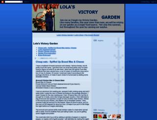 lolasvictorygarden.blogspot.com screenshot