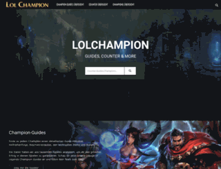 lolchampion.de screenshot