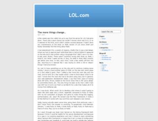 lolcom.wordpress.com screenshot