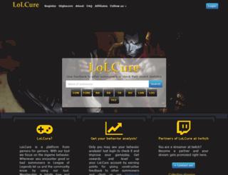 lolcure.net screenshot