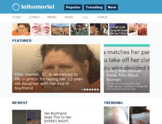 lolhumorlol.com screenshot