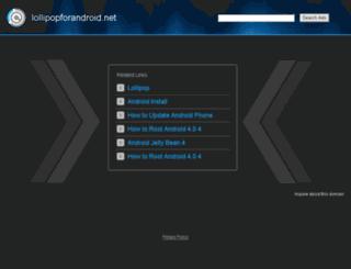 lollipopforandroid.net screenshot