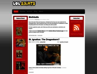 lolsaints.com screenshot