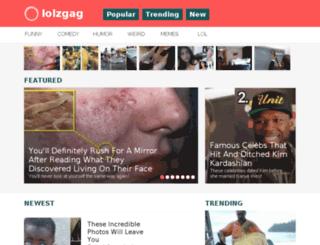 lolzgag.org screenshot