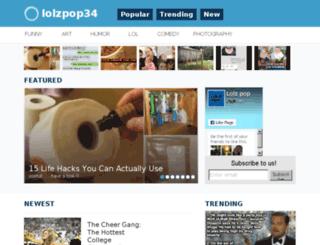 lolzpop34.com screenshot