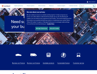 lombard.co.uk screenshot