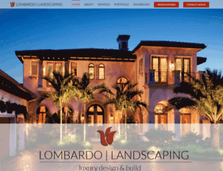 lombardolandscaping.com screenshot