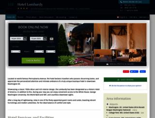 lombardy-washington.hotel-rez.com screenshot