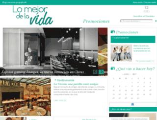 lomejordelavida.com.mx screenshot