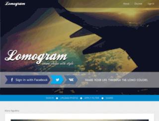 lomogr.am screenshot