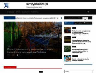 lomzynskie24.pl screenshot