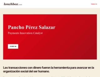 lonchbox.com screenshot