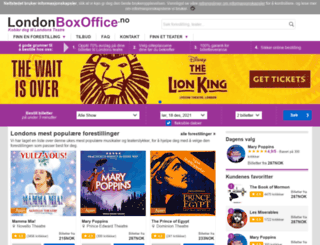 london-boxoffice.com screenshot