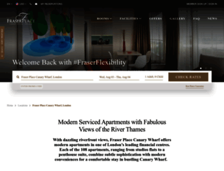 london-canarywharf.frasershospitality.com screenshot