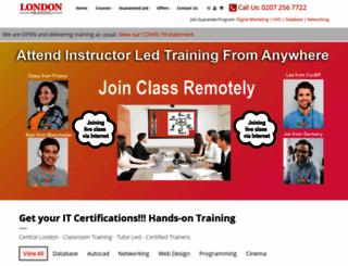london-training.com screenshot