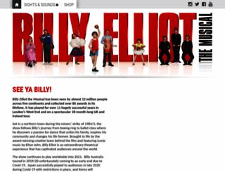 london.billyelliotthemusical.com screenshot